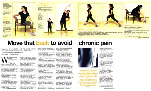 ST Move that back to avoid chronic pain